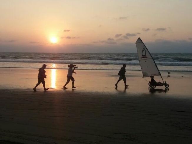 HGTV Filming on the Beach of Ecuador