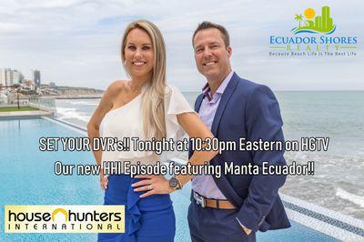 House Hunters International Features Manta Luxury Properties - MLS Real Estate Agent