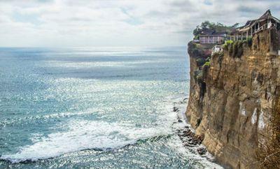 Olón Coastal Cliffs