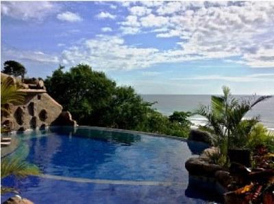 Olón Pool Ocean View