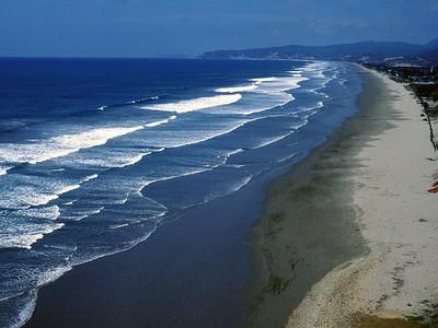 Olon Ecuador Beach