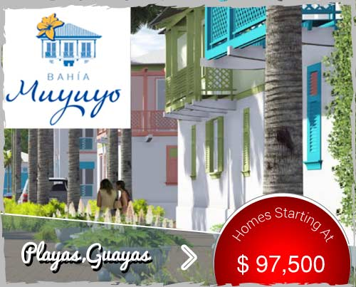 beachfront homes in playas ecuador