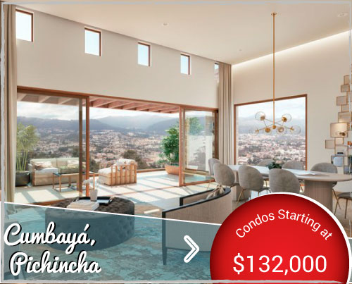 Contemporary Condos for Sale in Cumbayá Ecuador