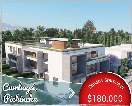 Residential Condos For Sale in Quiet Area of Cumbayá near Quito