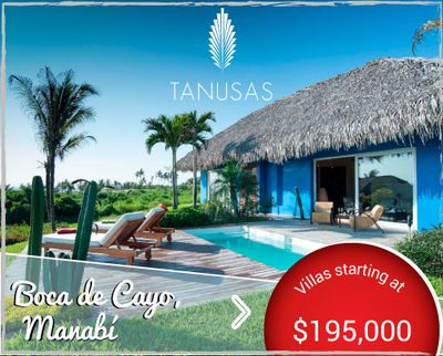 Tanusas Villas - Homes for Sale in Beach Resort Destination in Manabí Ecuador