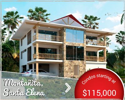 Villas Punta Vista - Condos for Sale in Montañita Ecuador