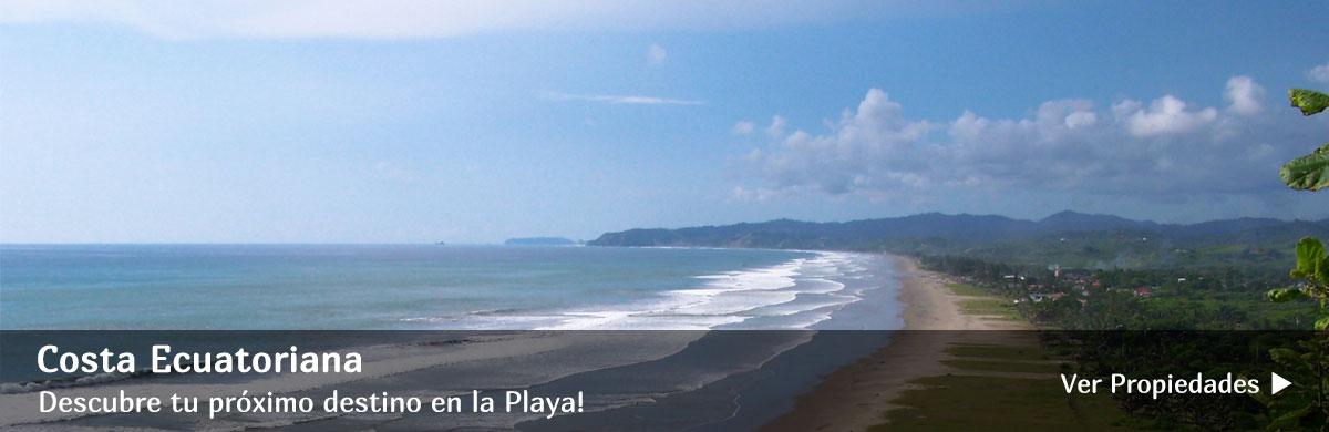 Propiedades en La Costa de Ecuador