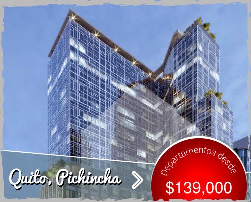 Suites, Lofts, Duplex y Oficinas en Venta en la Torre más exclusiva de Quito. Le Parc Residencies, un proyecto inmobiliario de clase mundial con el respaldo de Hotel LeParc.