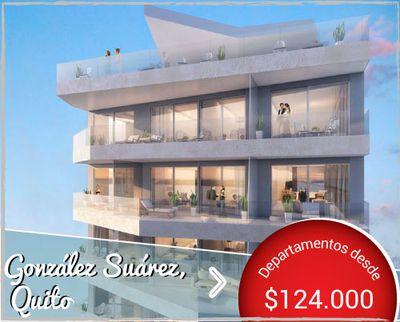 Modern Urban Condos - Departamentos de Lujo de Venta en el barrio González Suárez de Quito