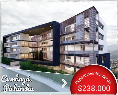 Vistas de Cumbayá - Departamentos de Venta en Cumbayá cerca de Quito