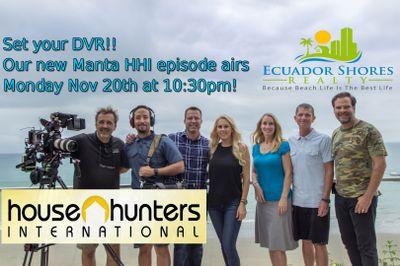 House Hunters Internacional Presenta a Manta Ecuador