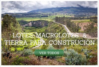Lotes, Macrolotes, y Tierra para Construción